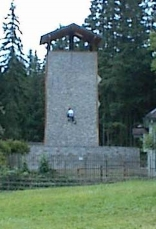 First climber on the tower