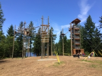 Zipline and COPE ribbion cutting